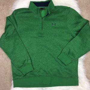 Under Armor sweatshirt 1/4 zip Large